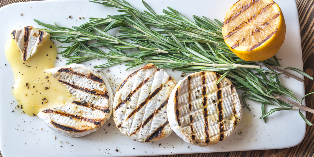 how to grill a wheel of brie