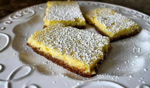 Lemon orange ricotta bars