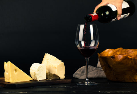best red wine and cheese pairing