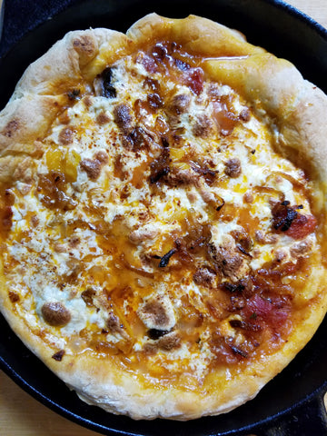 best cast iron pizza recipe