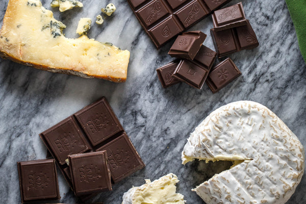 how to pair cheese and chocolate