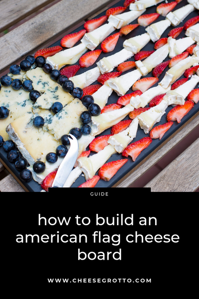 How to Build an American Flag Cheese Board