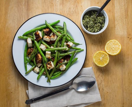 fried_paneer_and_green_beans