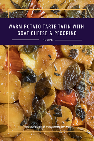 potato tarte tatin