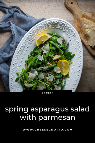Spring Asparagus Salad with Parmesan Recipe