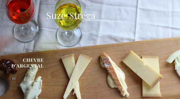 how to pair italian liqueur with cheese