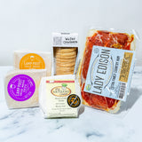 Artisan Cheese, Charcuterie & Crackers Gift Package