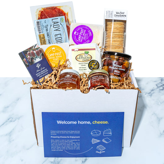 The Full Artisan Cheese Tasting Gift Package