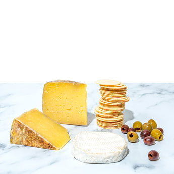 Artisan Cheese, Olives & Crackers Gift Package
