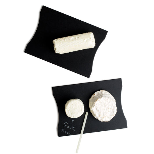 Grotto Fresco Black Color Cheese Board. Dishwasher Safe. Writable.