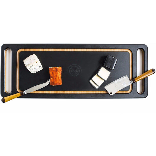 Double-handled cheese board