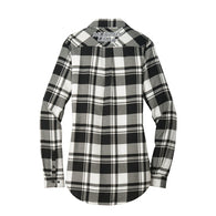 NLC Ladies Plaid Flannel Tunic