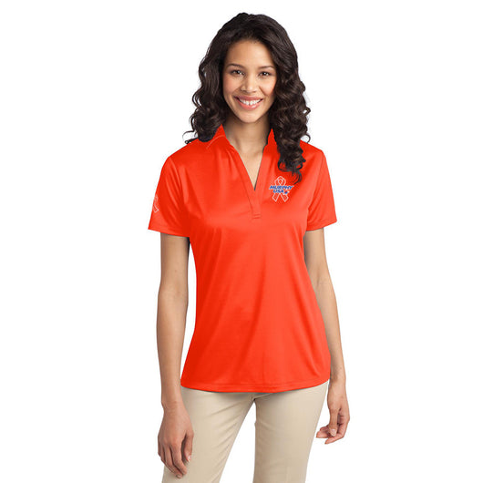 Ladies Port Authority® Silk Touch™ Performance Polo - Colon Cancer