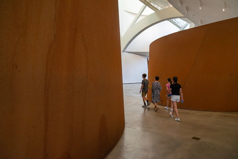 richard-serra-guggenheim-bilbao-spain