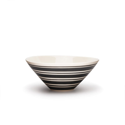 Lexington Serving Bowl- Banded Stripes