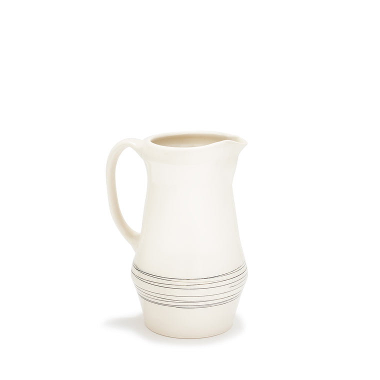 Ltd. Edition Hand-Thrown Pitcher - Linea Perpetua
