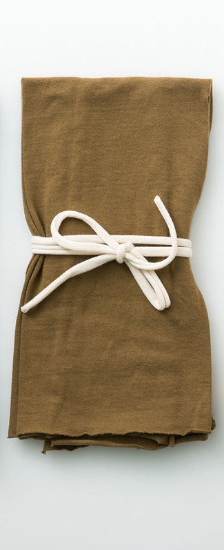 Organic Cotton Tea Towels - Ochre
