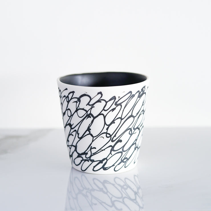 Ltd. Edition Lexington Cup - Circles / Matte Black Inside
