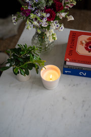 Ltd. Edition Magnolia Scented Hand-Poured Candle: Linea