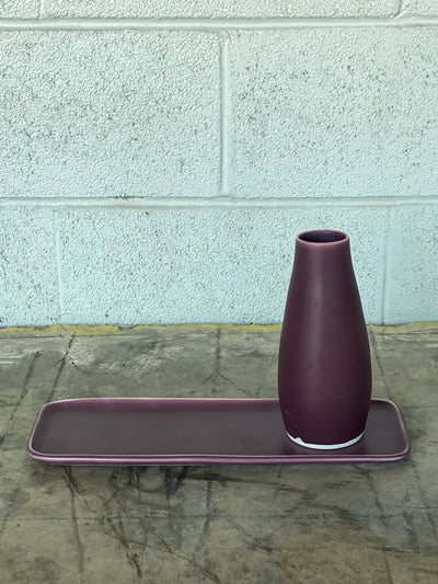 Ltd. Edition Essential Tray - Plum/White Edge