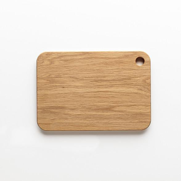 Handcrafted White Oak Medium Cutting Board
