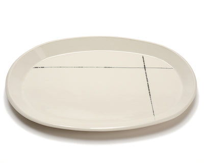 Gift Registry Oval Serving Platter - Intersect