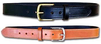 "TOM'S ""CLASSIC GUN BELT"" DOUBLE THICK REINFORCED LEATHER. DRESS OR CASUAL GUN BELT, LIFETIME USAGE"