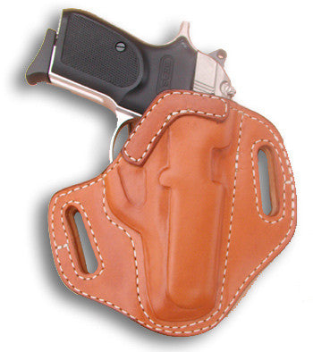 "TOM'S ""FAVORITE SIDE-ARM HOLSTER"" DOUBLE THICK STEEL MESH REINFORCED LEATHER"