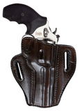 "TOM'S ""REVOLVER MASTERPIECE HOLSTER"" DOUBLE THICK STEEL MESH REINFORCED LEATHER"