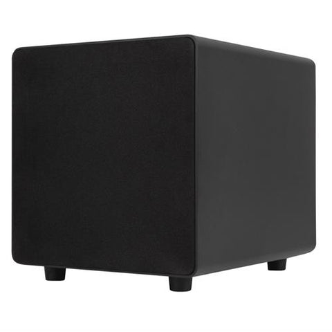 Sonance 300W Compact Black Subwoofer