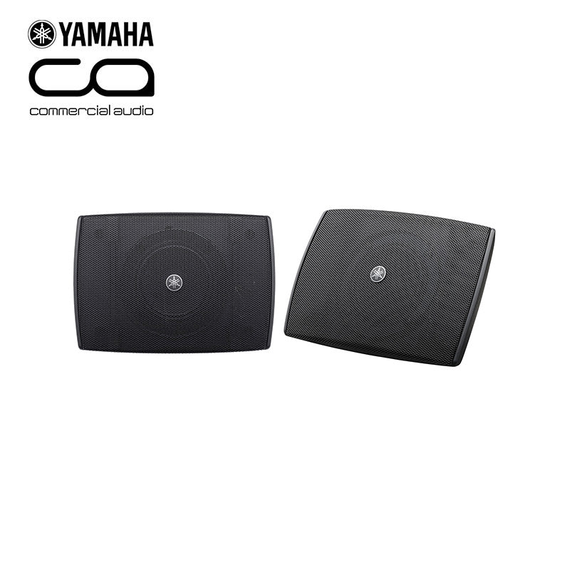 "Yamaha VXS3FW 3.5"" Compact On Wall Speakers in Black"