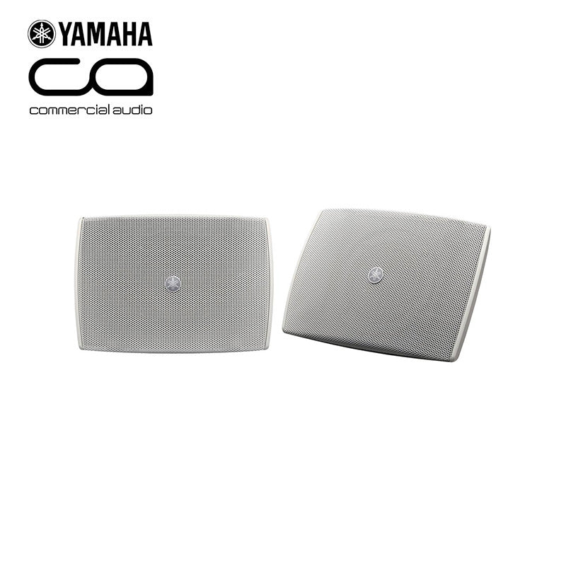 "Yamaha VXS3FTW 3.5"" Compact On Wall Speakers in White"
