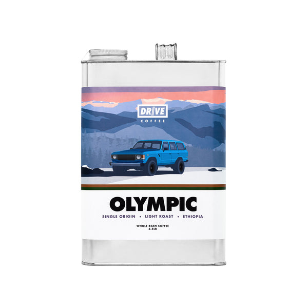 DRIVE COFFEE - NATIONAL PARK COLLECTION, OLYMPIC