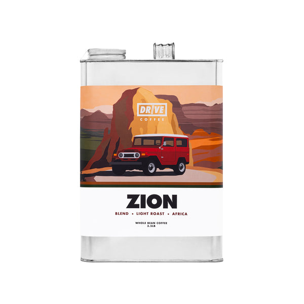DRIVE COFFEE - NATIONAL PARK COLLECTION, ZION