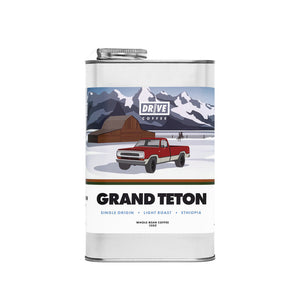 Drive Coffee, National Park Edition, Grand Teton