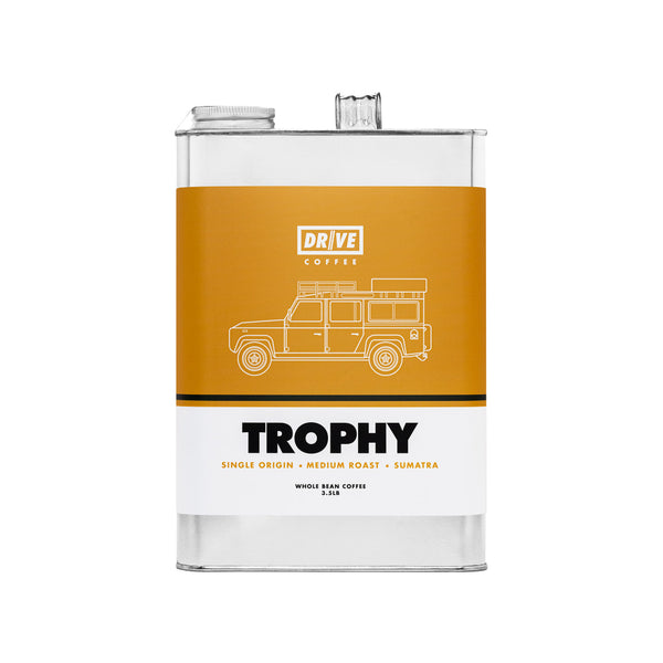 DRIVE COFFEE - TROPHY, Landrover Defender, 3.5 LBS