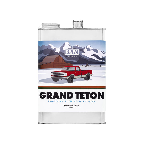 DRIVE COFFEE - NATIONAL PARK COLLECTION, GRAND TETON