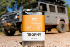 DRIVE COFFEE - TROPHY, Landrover Defender