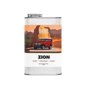 Drive Coffee, National Park Edition, Zion