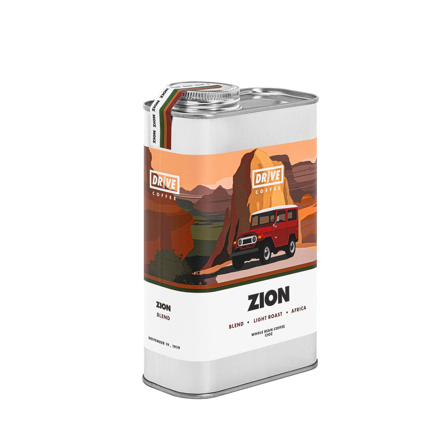 DRIVE COFFEE - NATIONAL PARK COLLECTION, Full Box