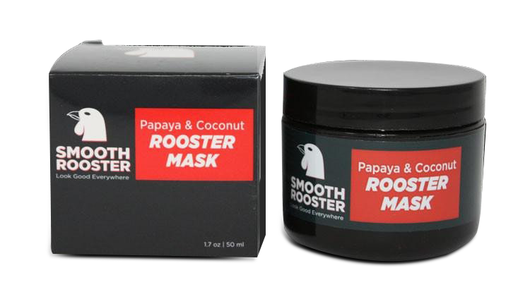 Smooth Rooster - Papaya & Coconut Rooster Mask