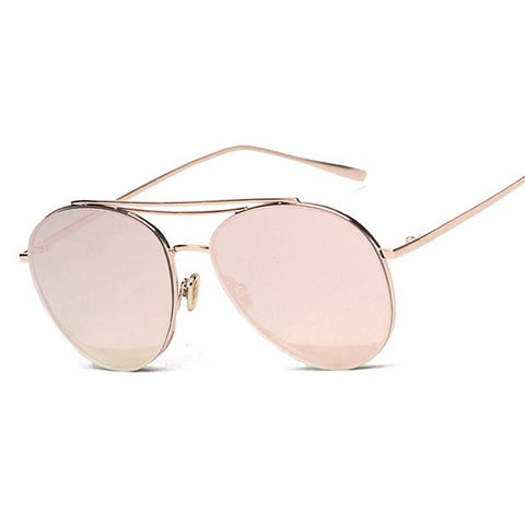 Blush Aviator Sunglasses