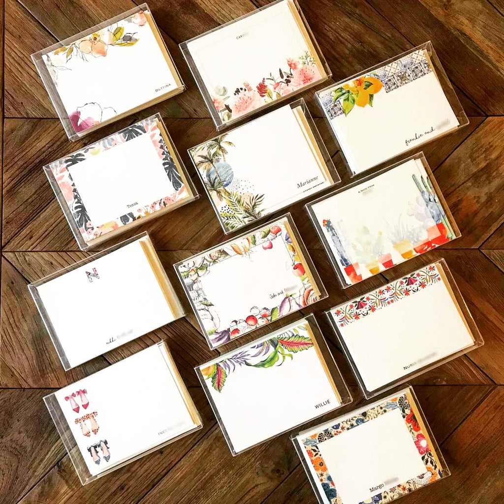 Promo: 5 notecards for P1000