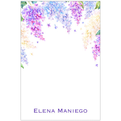 Purple Floral Hues Gift Tag