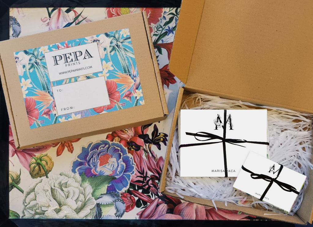 Pepa Big Floral Monogram Gift Set