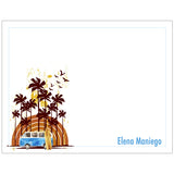 Waikiki Dreams Personalized Note Cards