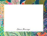 Colors of the Tropics Personalized Notecards