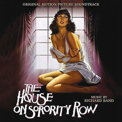 HOUSE ON SORORITY ROW, THE - Original Soundtrack by Richard Band
