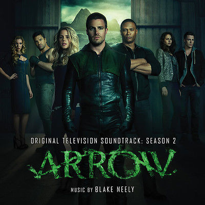 Arrow-Season 2: Original Soundtrack Recording by Blake Neely