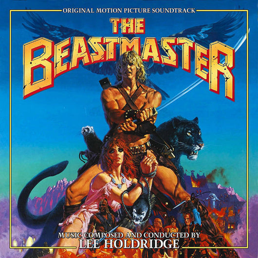 Beastmaster-2 CD SET Original Soundtrack by Lee Holdridge (BSX Edition)